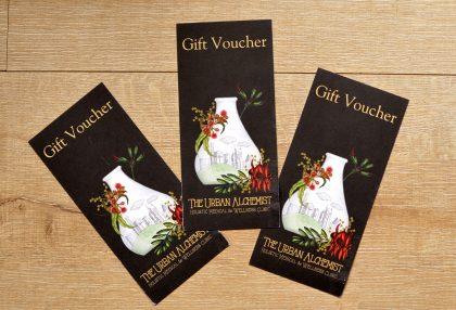 The Urban Alchemist Gift Vouchers