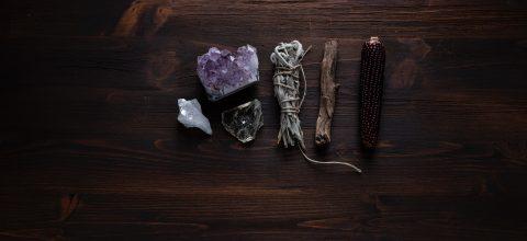Crystals altar